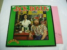 JACK BONUS - JACK BONUS - LP VINYL VERY GOOD CONDITION - GRUNT 1972