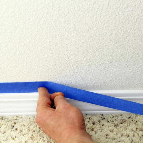 NEW BLUE PAINTERS CLEAN PEEL MASKING TAPE 24MM-48MM x 50M UV RESISTANT LONG LAST