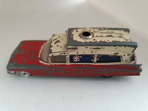 Vintage-Corgi-Superior-Ambulance-On-Cadillac-Chassis