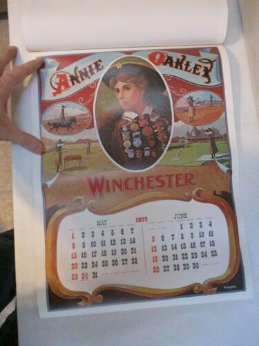 "Authentic//Original /""New Old Stock/"" 1977 Winchester Calendar"