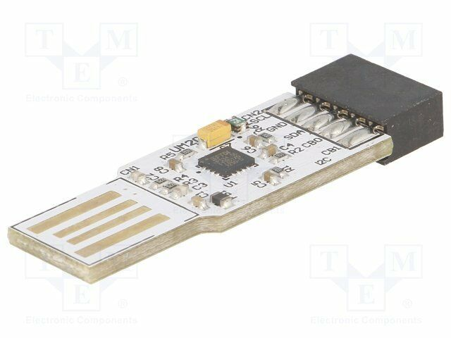 Modul: USB; I2C-Slave; USB A, Stiftbuchse; 3,4Mbps; 2,54mm [1 st]