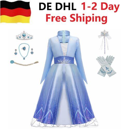 Eiskönigin 2 Prinzessin Elsa Kleid Frozen 2 Snow Eisprinzessin Halloween Party