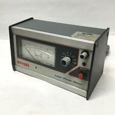 Ophir Laser Power Energy Meter Analog Dial 0 150 Watts Gauge 115vac Bnc Input