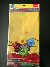 """2 PACK Disney Mickey Mouse Birthday Party Table Cover 54/"""" x 96/"""" Hallmark NEW"""