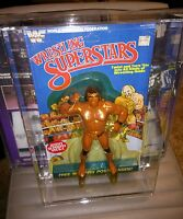 Superfly Jimmy Snuka Wwf Wrestling Superstars Ljn Figure 5 Back With Stand