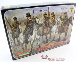 Strelets-Set-37-Mounted-Boers-1-72-Scale-Plastic-Figures