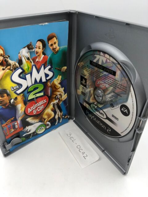 Les Sims 2: Animaux & Cie Pets( sony PLAYSTATION 2, 2006) Avec Notice Vf