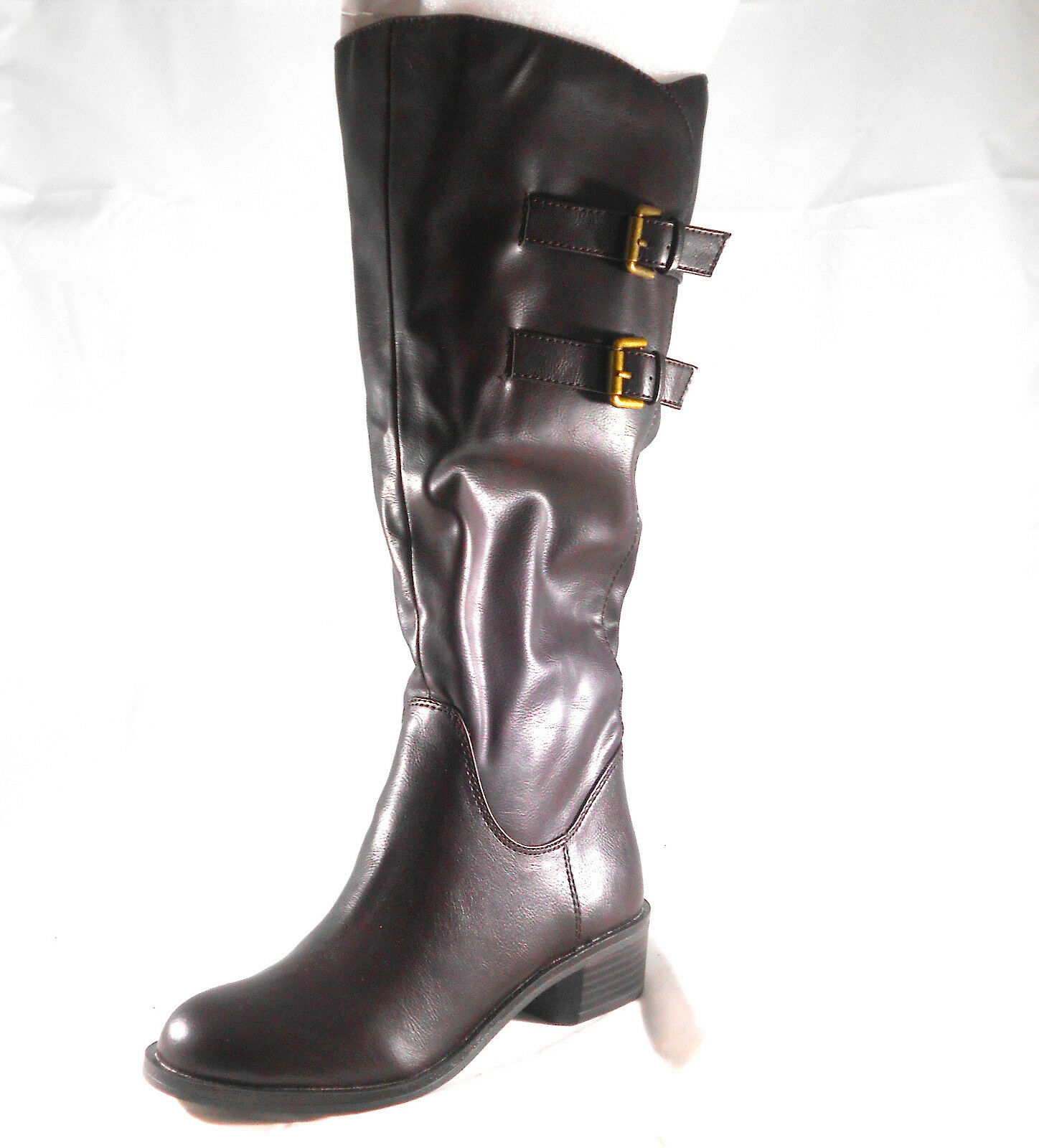 STYLE&CO (MASEN CHOCOLATE BOOT) WOMEN'S SIZE 5.5 WIDE CALF BRAND NEW