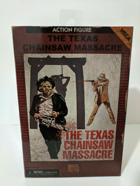 """ULTIMATE LEATHERFACE Texas Chainsaw Massacre 7/"""" Action Figure Rereleased 2017"""