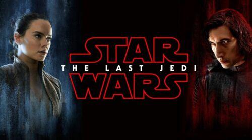 Star Wars The Last Jedi Movie Rey Daisy Ridley Adam Driver Kylo Ren New Poster