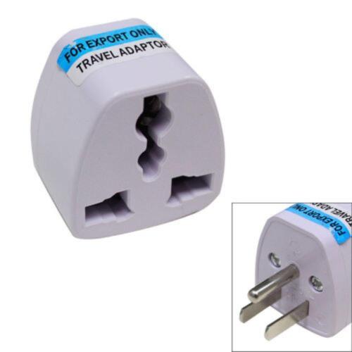 Universal Power Plug Adapter Outlet Converter UK EU AU To US USA AC