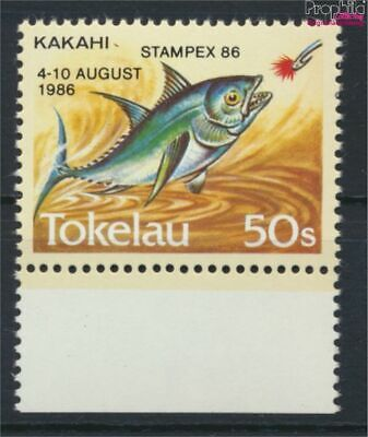 complete Issue Discreet Tokelau 129 Unmounted Mint / Never Hinged 1986 Stamp 9305180