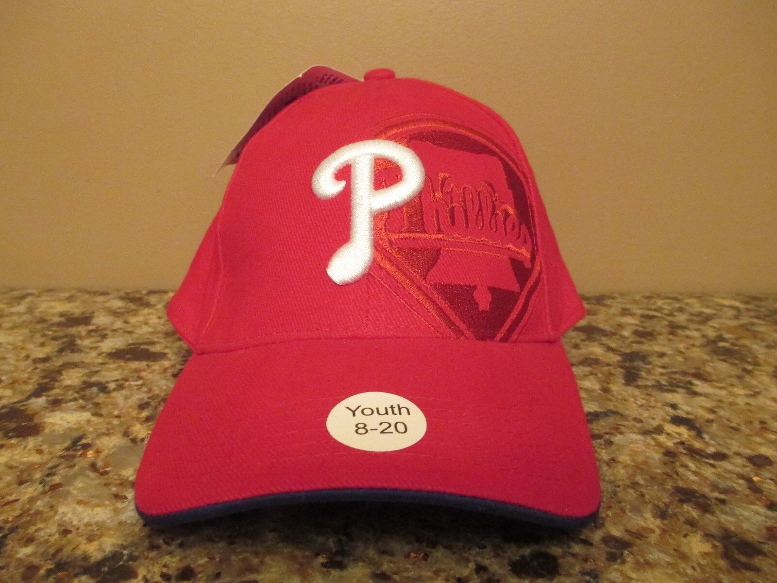 PHILLIES INFINITY SCARF   LOGO-RED-P