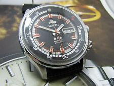 RARE Vintage Orient King Diver KD Black Dial Automatic Gents 9.