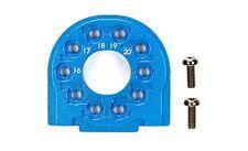 Tamiya TT-02/B Alu Motorhalter Blau eloxiert - 300054558