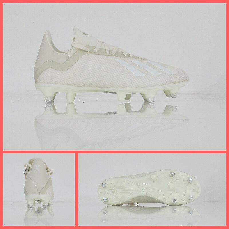ADIDAS zapatos calcio X 18.3 SG D97851 col.OFFblanco settembre 2018