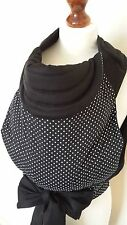 MEI TAI BABY CARRIER / SLING / REVERSIBLE /MINI POLKA DOTS/100%COTTON/MADE IN UK