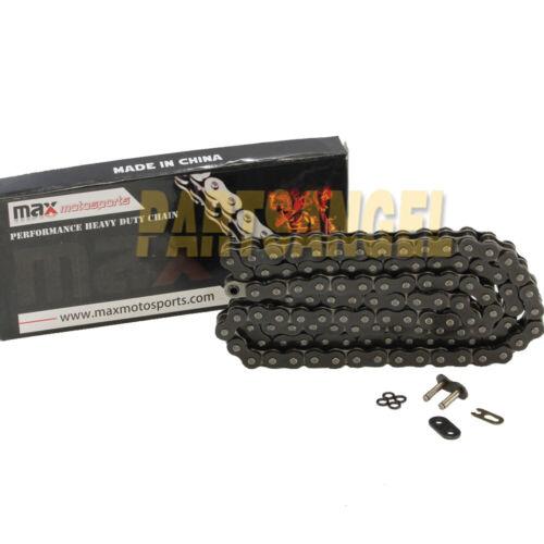 525 Black O-ring Chain 112 Links for Honda CBR600RR Kawasaki ZX10R ZX1000 Ninja