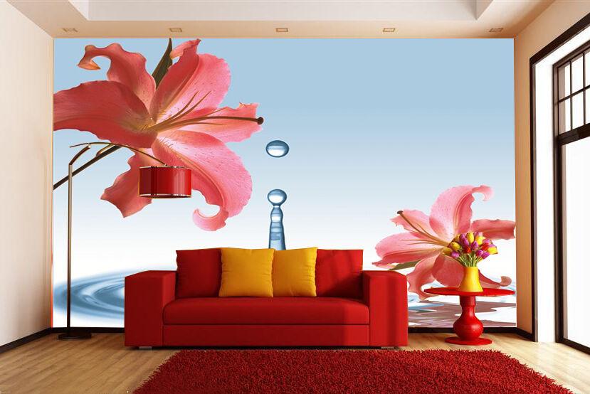 3D Water Plant Art 16111 Paper Wall Print Decal Wall Wall Murals AJ WALLPAPER GB