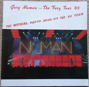 Gary-Numan-The-Fury-Tour-039-85-official-photo-book-of-the-UK-tour