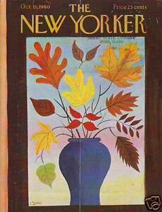 1960-New-Yorker-October-15-Vase-of-Autumn-Leaves