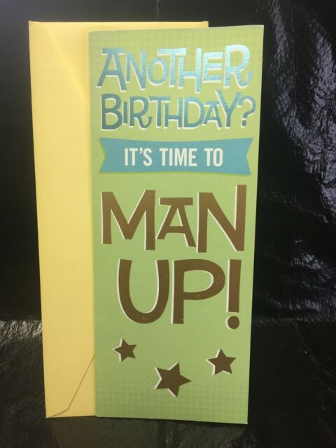 """Hallmark Shoebox Happy Birthday Card for FRIEND Funny Adult  /""""Time to get Drunk/"""""""