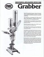 Mec Owner Manual Grabber/hustler Lit. Pack