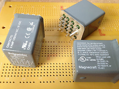 Zone 2 Relay 782XDXH10-110D Multi Qty 3A 4PDT Sealed Screened Hazardous Class 1