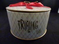Vintage Trifling Bath Powder Lenel Sealed In Original Box
