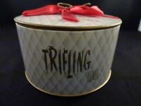 Vintage Trifling Bath Powder Lenel Sealed In Original Box