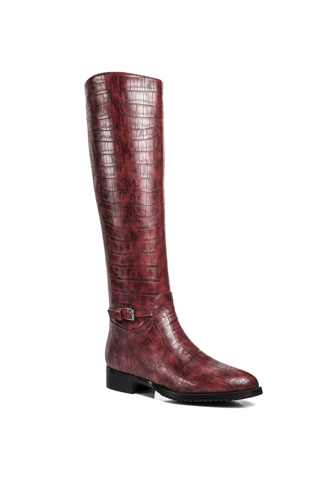 71d1cd1dc8e Weenen' Boots Riding Croc-Print Women's Creek Ann apyqb2b056768 ...