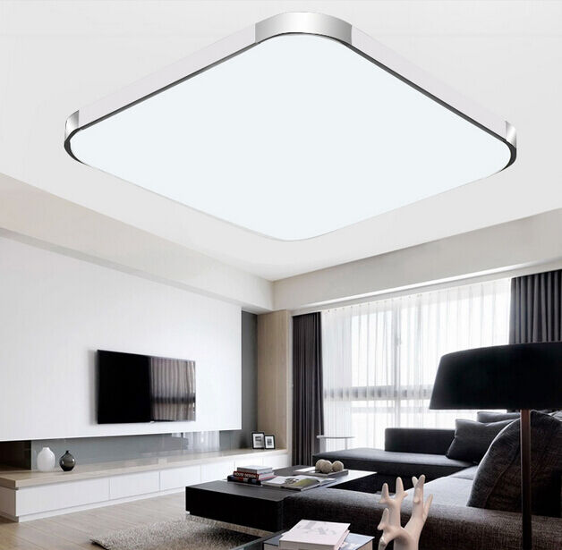 15w/20w/28w/56w Modern Square LED Ceiling Light Bedroom Dining ...