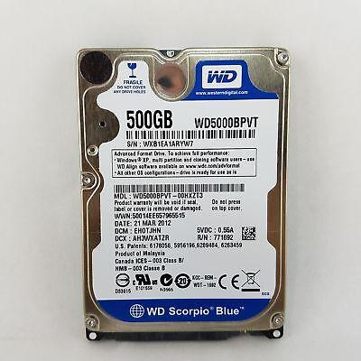 """HDD WD5000BPVT Western Digital Scorpio Blue 500GB Internal 5400RPM 2.5/"""""""
