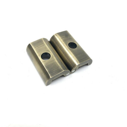 F Raw Lacquer Color Magnetic Hinge Clamp Plate for Brompton Bicycle Folding