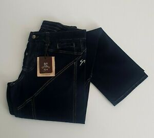 9-2-Carlo-Chionna-153UB014-Pantalone-Jeans-Uomo-Blu-tg-varie-69-OCCASIONE