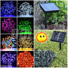 100/200 LED Solar Powered Garden Wedding Party Outdoor Fairy String Lights Decor