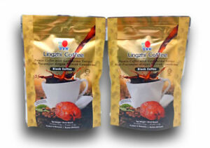 2 Pack DXN Lingzhi Instant Coffee 2 IN 1 Gourmet With Reishi Ganoderma