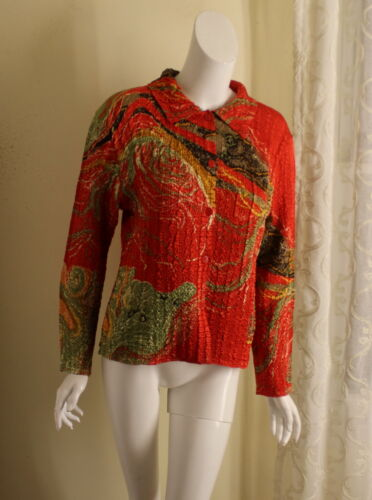 RED art-to-WEAR M L SPECIAL Museum Fiber Art-to-We