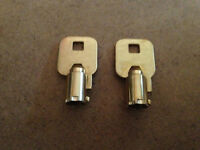 2 Sentry Safe Keys Cut To Your Key`s Combination {read Ad}