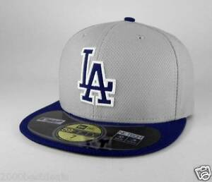 3d7fb2ba285 New Era 59Fifty MLB Cap Los Angeles Dodgers Diamond Era BP Road ...