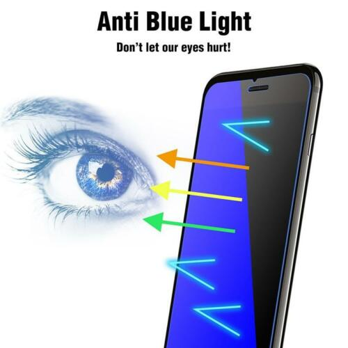 Anti-Blue Light Tempered Glass Screen Protector For iPhone 11/ XR/XSMAX/8/7/6