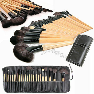 24X Professional Make Up Brush Set Foundation Brushes Kabuki Makeup Brushes Set