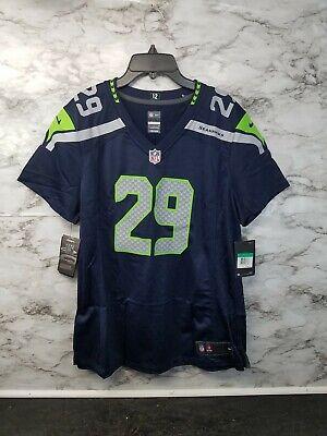 Nike Seattle SEAHAWKS Thomas lll #29 Women's NIKE Football Jersey XL 100$ | eBay