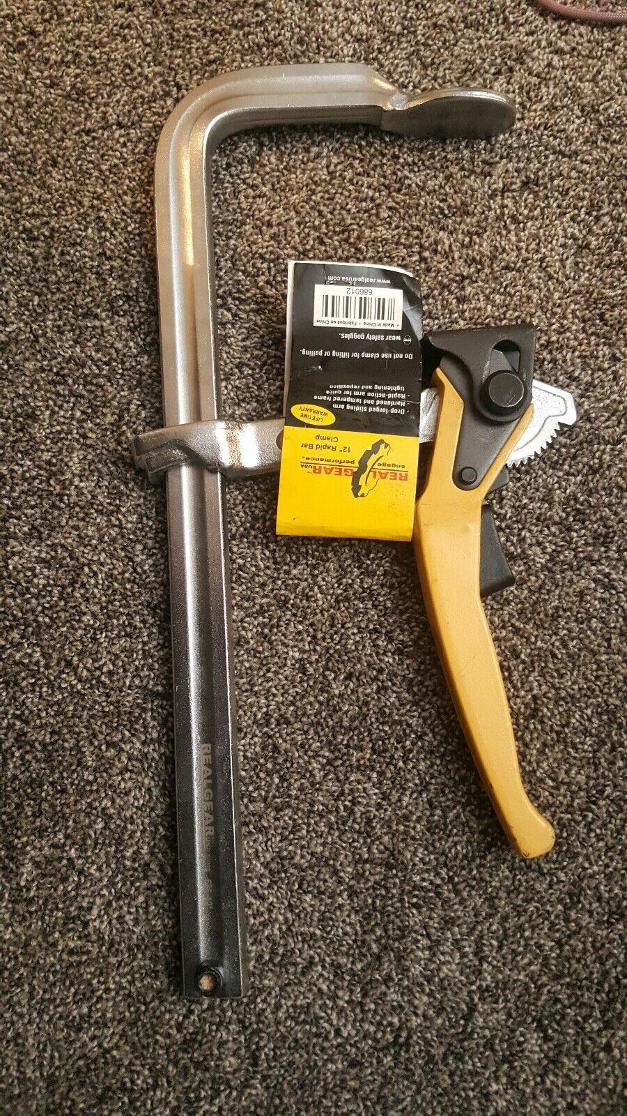 Real Gear 12  rapid bar clamp. Bx67