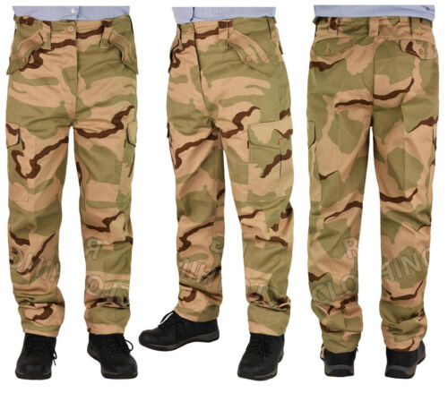 Men/'s Big Size  Army Cargo Combat  Work Trousers//Pants Size 28-62
