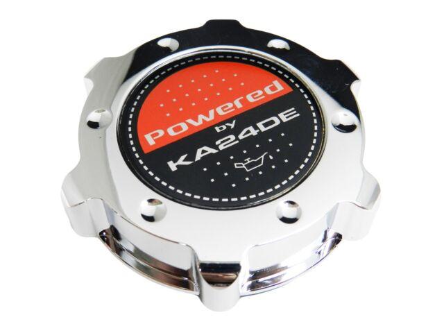 CHROME KA24DE LS-STYLE BILLET ENGINE OIL FILLER CAP FOR NISSAN INFINITI