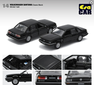 ERA Volkswagen Santana Black 1//64