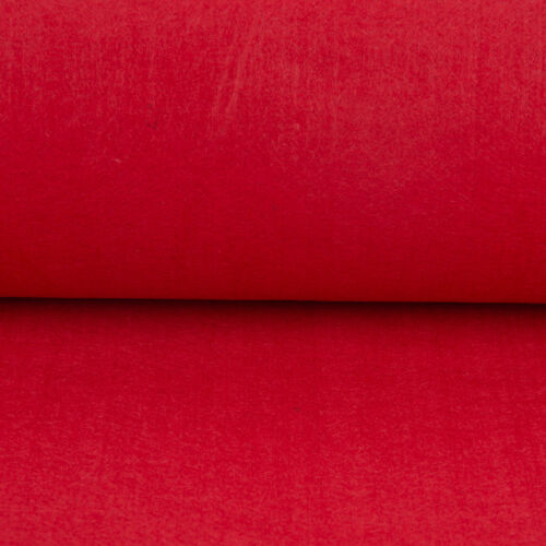 Fieltro monocromática rojo 3mm grosor 1m ancho