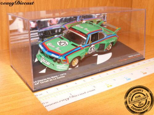 BMW 3.5 CLS QUESTER-KREBS-PELTIER 1:43 LE MANS 1976 #43
