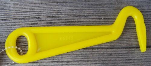 Yellow Unbreakable Poly Hoof Pick